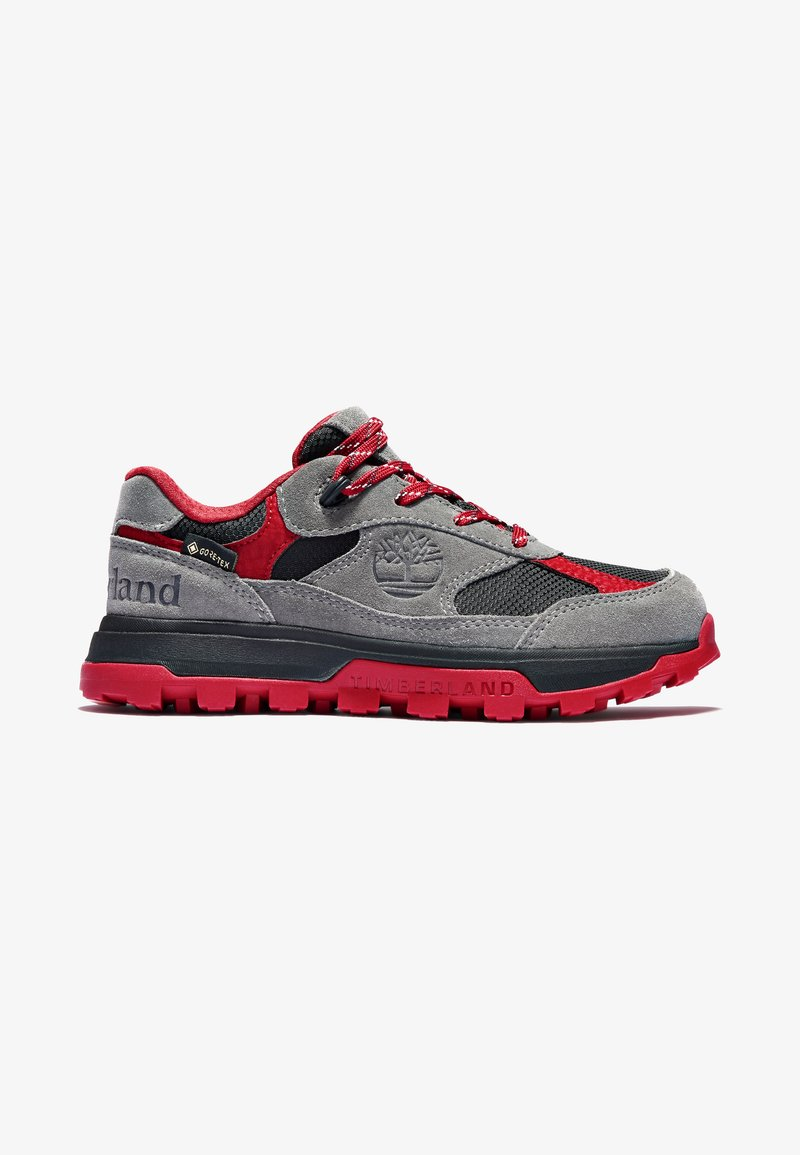 Timberland - TRAIL TREKKER LOW GTX - Sports shoes - grey red