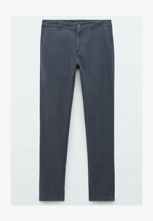 JOGGING-FIT - Chinos - blue
