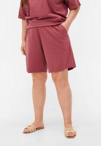 Zizzi - Shorts - deco rose - 3