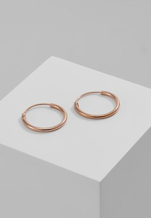 DIA HOOP - Ohrringe - rosegold-coloured