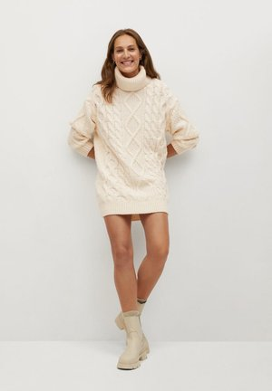 MARA - Jumper dress - écru
