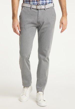 ROBERT - Straight leg jeans - grey