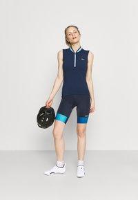 Gore Wear - FORCE SHORT WOMENS - Tights - orbit blue/scuba blue - 1