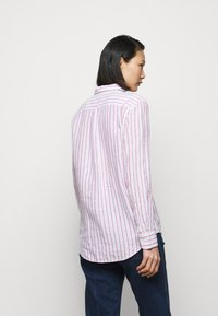 Polo Ralph Lauren - STRIPE LONG SLEEVE - Button-down blouse - white/pink - 2