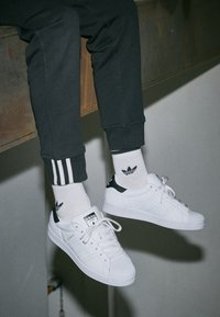 adidas Originals - SUPERSTAR - Trainers - footwear white/core black - 4