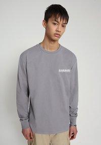 Napapijri - BEATNIK - Long sleeved top - grey gull - 0