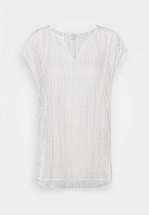 BLOUSE - Camiseta básica - white