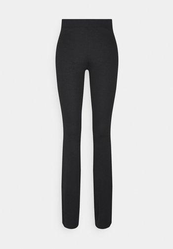 ONLAVA LONG PANT  - Leggings - Trousers - black