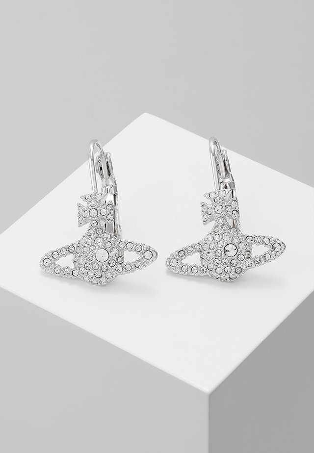 GRACE BAS RELIEF EARRINGS - Korvakorut - crystal