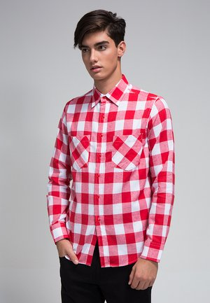 Camicia - white/red
