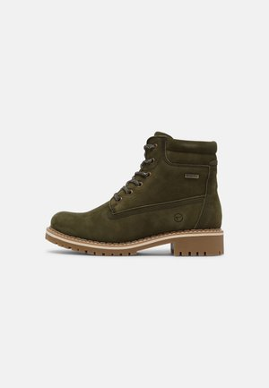 Winter boots - olive