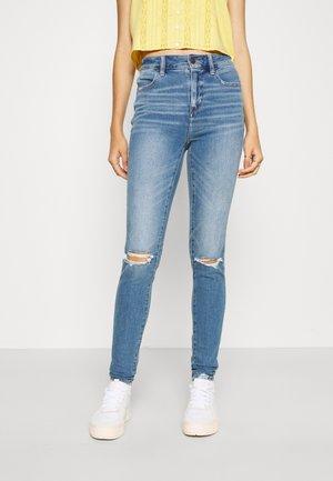 Jeans Tapered Fit - blue denim