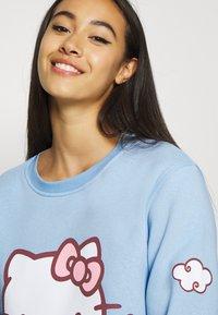 NEW girl ORDER - HELLO HEART - Sweatshirt - blue - 3