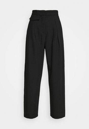 NIGELLA TROUSERS - Pantalones - black