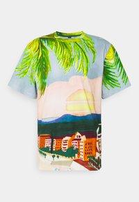Sergio Tacchini - CIUDAD  - Print T-shirt - cherry tomato multi - 0