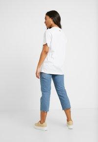 Fila Petite - PURETEE PETITE - Camiseta estampada - bright white - 2