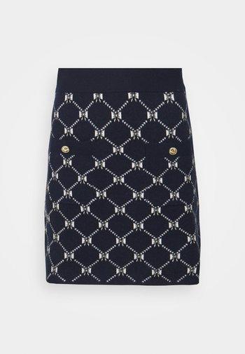 JINO - Mini skirt - marine