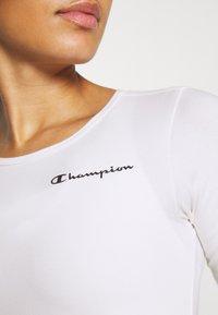Champion - LEGACY - trikot na gymnastiku - white - 4
