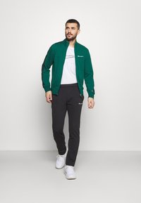 Champion - FULL ZIP SUIT SET - Trainingspak - green/black - 1