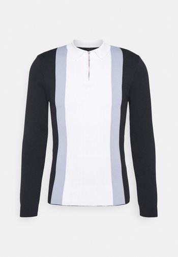 BLOCKED - Polo shirt - navy