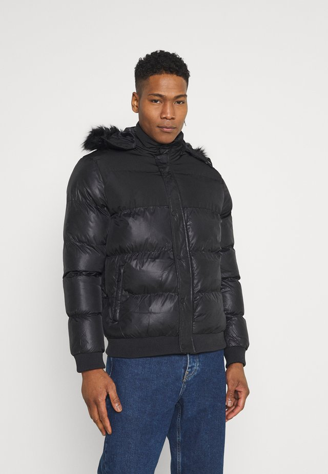 POLAR PUFFER JACKET - Giacca invernale - black