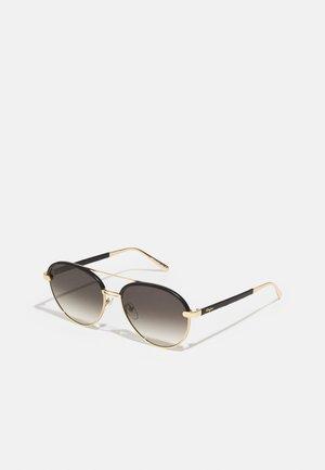Sonnenbrille - rose gold-coloured/black