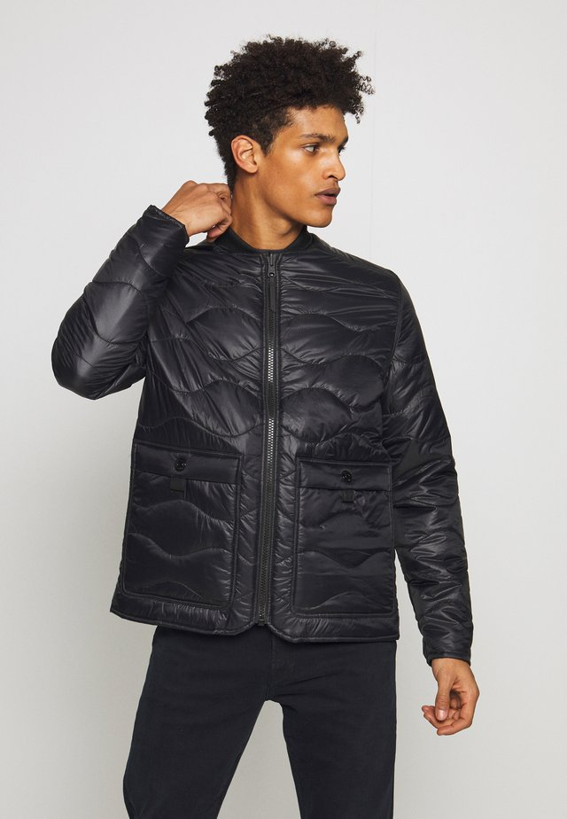 JACKET - Chaqueta fina - black