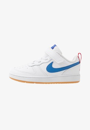 COURT BOROUGH 2 - Sneakers basse - white/pacific blue/university red/light brown
