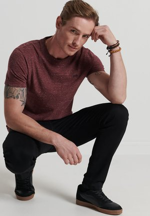 MICRO  - Basic T-shirt - burgundy heather