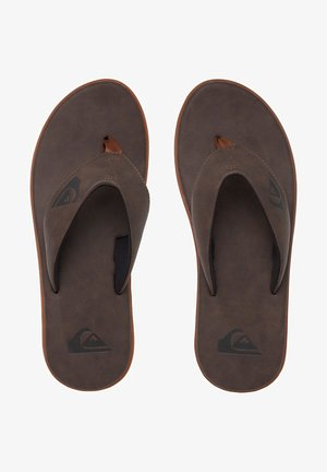 T-bar sandals - brown/brown/brown