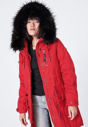 CLAU-DIA - Winter coat - red