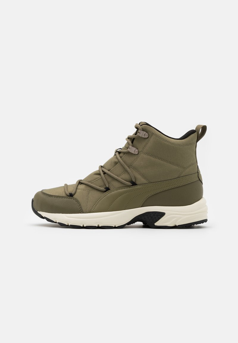 Puma - AXIS BOOT UNISEX - Lace-up ankle boots - burnt olive