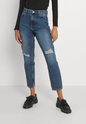 ONLJAGGER LUX LIFE MOM - Jeans straight leg - medium blue denim