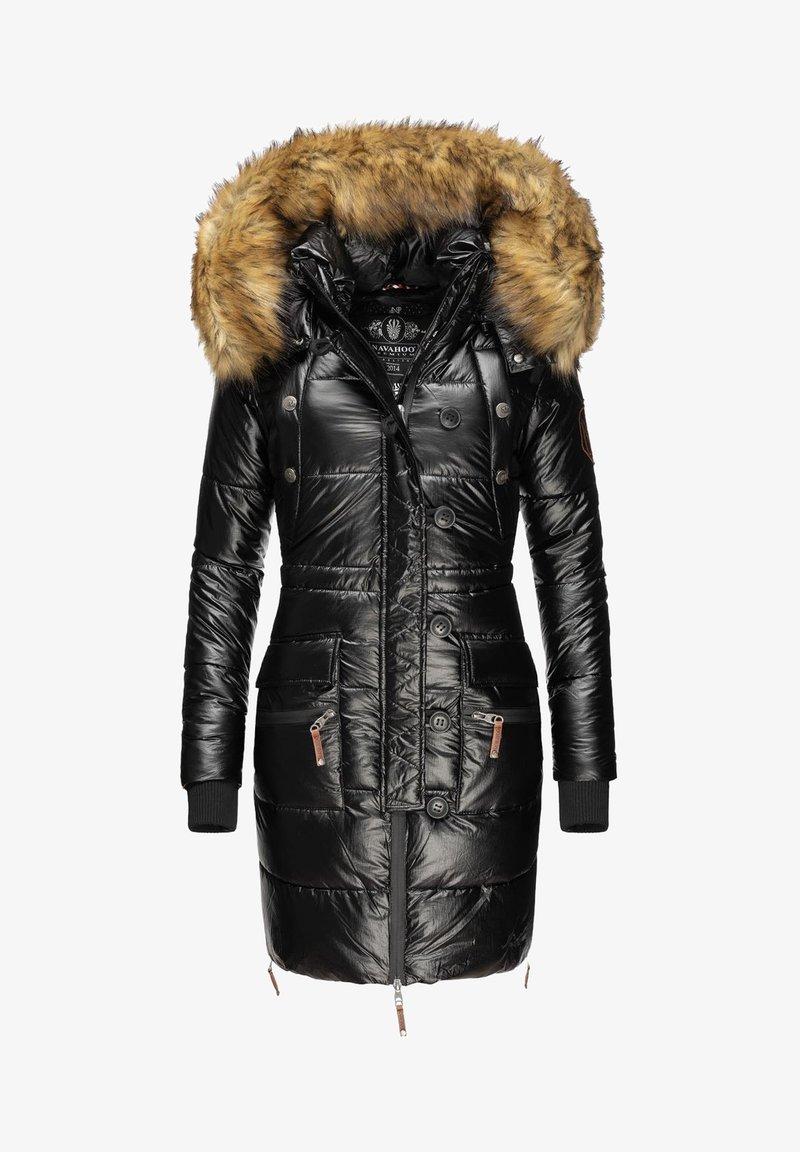 Navahoo - Winter coat - black