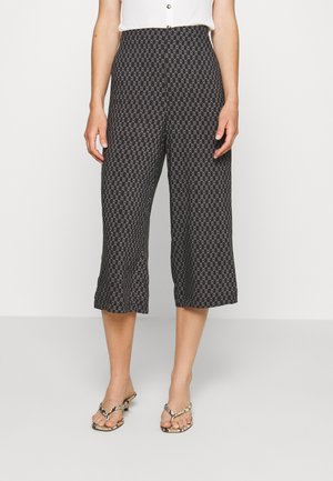 VMSIMPLY EASY CULOTTE PANT - Trousers - black/felicia tornado