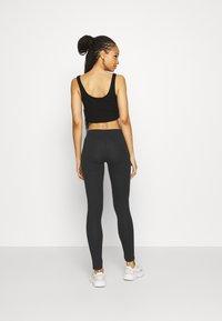 Even&Odd - 2 PACK - Leggings - Trousers -  black olive - 3