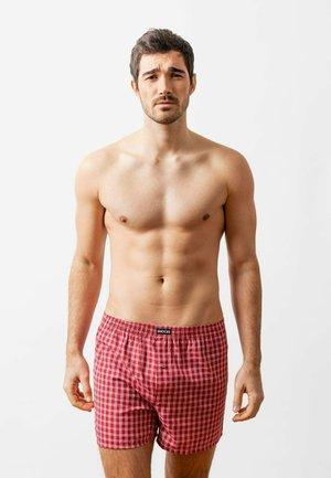 SNOCKS 3 PACK - Boxer shorts - small check