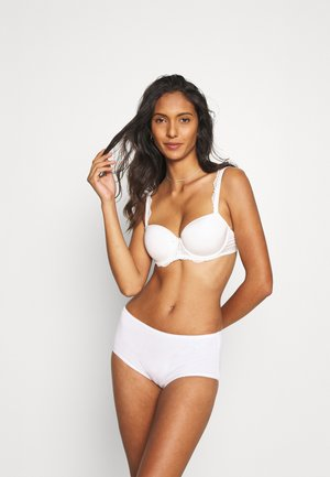VALUE MIDI 4 PACK - Panties - white