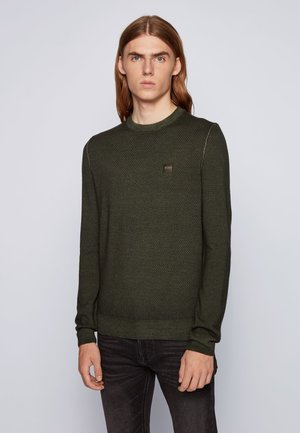 ANITOBA - Sweatshirt - open green