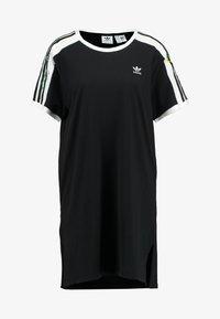 adidas Originals - DRESS - Jerseykleid - black - 4