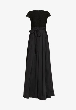 TAFFETA LONG GOWN COMBO - Ballkjole - black