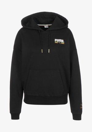 Hoodie - black/ gold