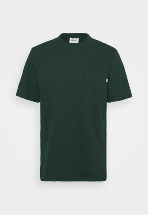 BOBBY POCKET  - T-paita - dark green
