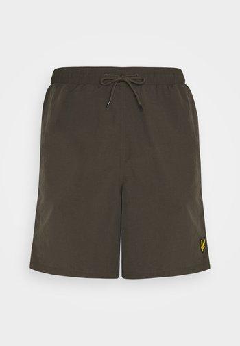 PLAIN SWIM - Swimming shorts - trek green
