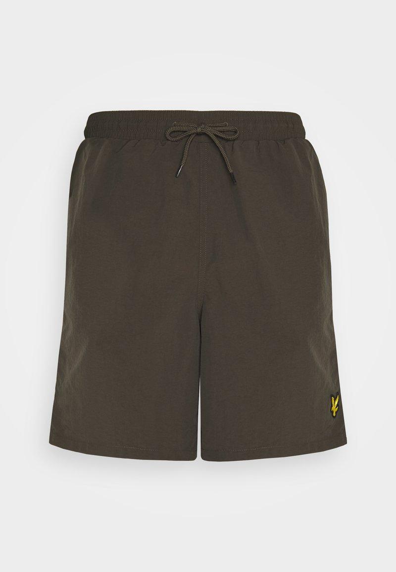 Lyle & Scott - PLAIN SWIM - Swimming shorts - trek green