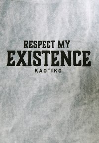 Kaotiko - UNISEX SUD CAP TIE DYE - Kapuzenpullover - blue - 6
