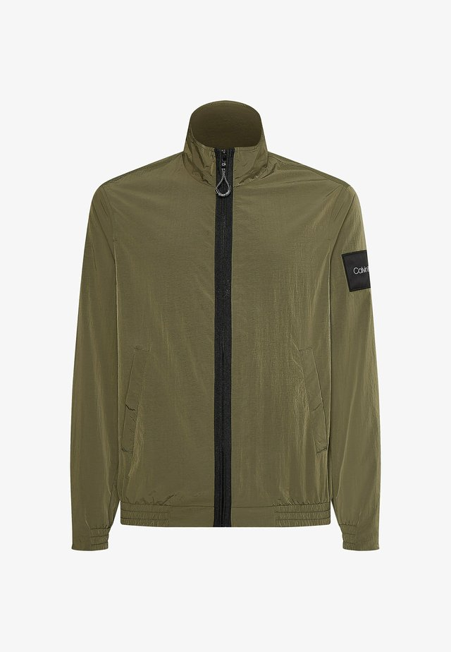 CRINKLE EASY  - Light jacket - delta green