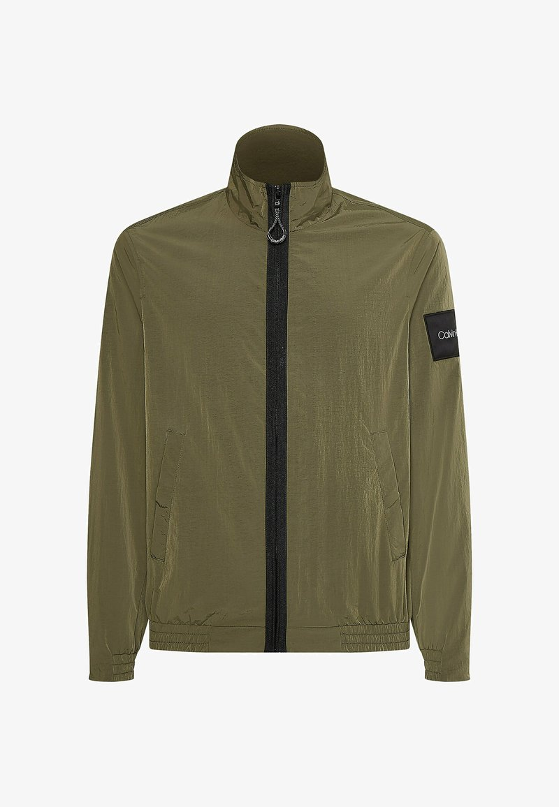 Calvin Klein - CRINKLE EASY  - Light jacket - delta green