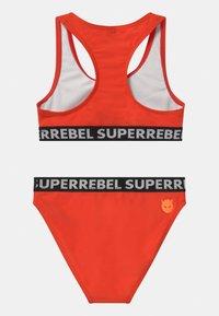 SuperRebel - SET - Bikini - neon red - 1
