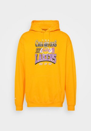 CHAMPIONS HOODIE - Club wear - yellow